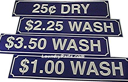 Z $1.00 WASH DECAL - BLUE