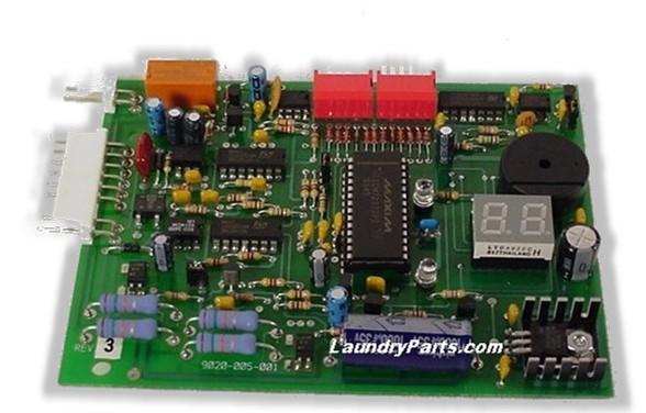 D9020-005-001 COIN BOARD DEXTER W/ TIMER COUNT