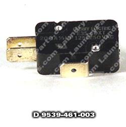 D9539-461-005 AIR FLOW SWITCH
