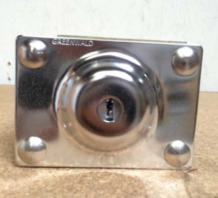 COIN BOX GREENWALD 8in HI SECURITY 8-1240-42 UG400B