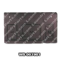 WS 007901 BLACK SOAP LID