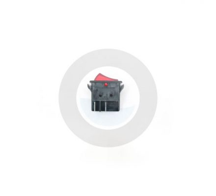 Alliance Laundry Systems Alliance Switch Rocker Red Illum Dpst #F340411