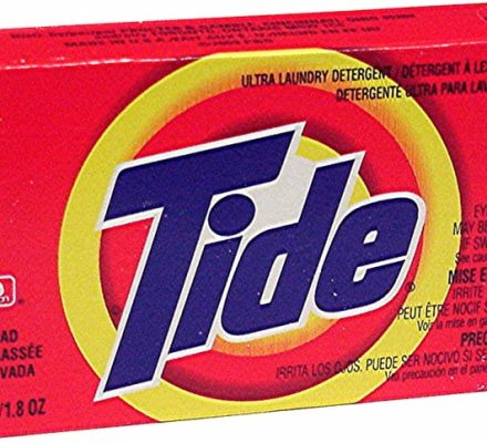 Coin-Vend Products Coin Vend Tide Detergent 156 cs #CVTIDE156