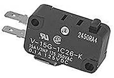 Dexter Stack DL Dexter Dryer Door Switch #D-9539-461-001