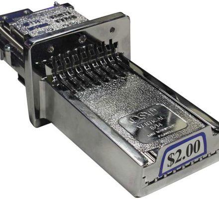 Esd Vertical 8 Coin Chute -$0.00-$2.00 #esdv8