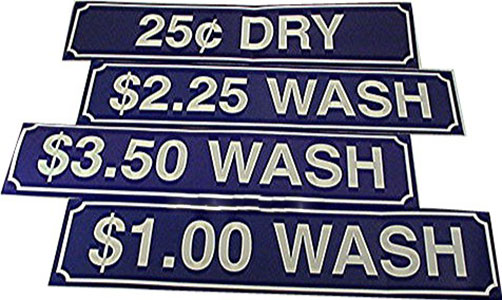 Laundry Stickers & Decals Wash Decal – Blue $2.75 #Z-275WASH-BLU