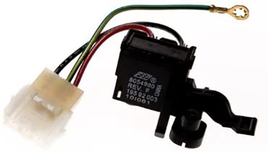 Whirlpool CAM27 Whirlpool Washer (N) Lid Switch Blk #WP-8054980